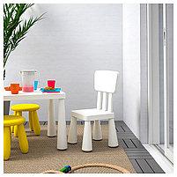 Детский стул MAMMUT Маммут, д/дома/улицы/белый, фото 3