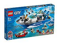 LEGO Катер полицейского патруля CITY