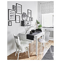 Стол MELLTORP Мельторп, белый 125x75 см, фото 6