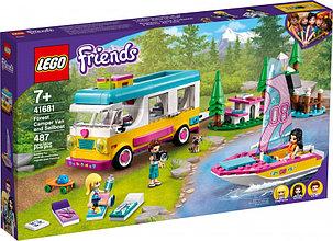 41681 Lego Friends Лесной дом на колесах и парусная лодка, Лего Подружки