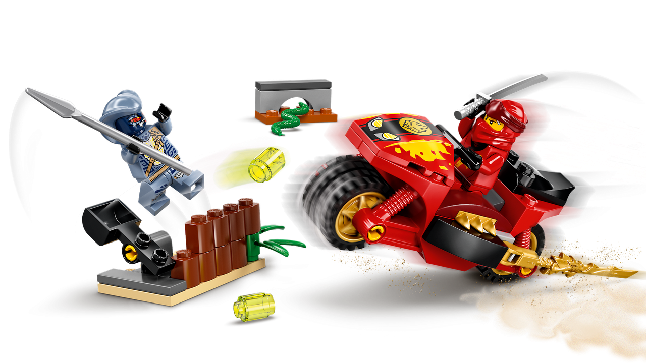 71734 Lego Ninjago Мотоцикл Кая, Лего Ниндзяго - фото 3
