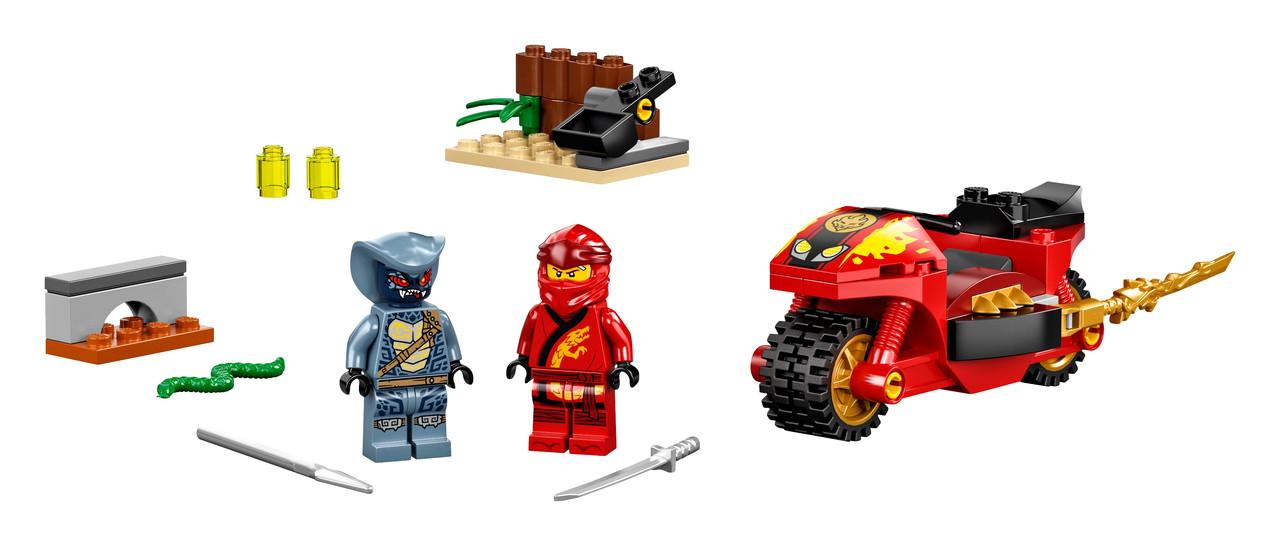 71734 Lego Ninjago Мотоцикл Кая, Лего Ниндзяго - фото 4