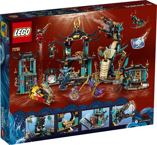 71755 Lego Ninjago Храм Бескрайнего моря, Лего Ниндзяго - фото 2