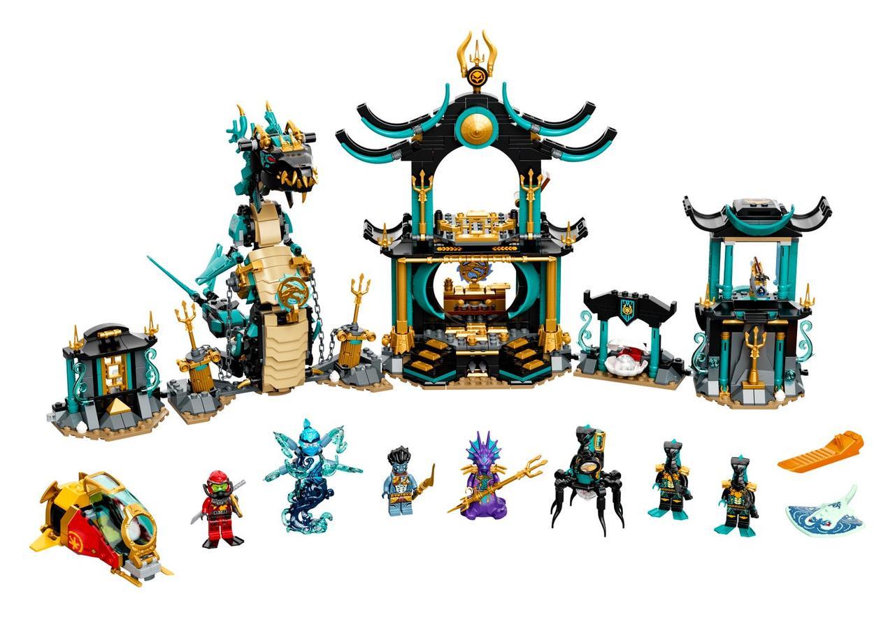 71755 Lego Ninjago Храм Бескрайнего моря, Лего Ниндзяго - фото 4