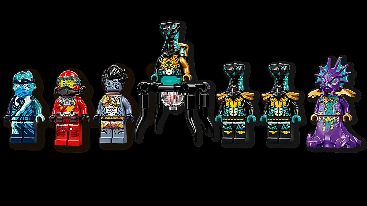 71755 Lego Ninjago Храм Бескрайнего моря, Лего Ниндзяго - фото 6