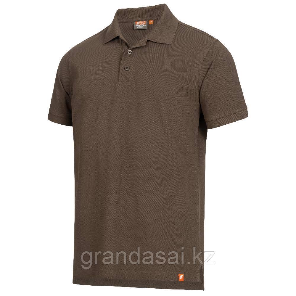 Рубашка поло, цвет коричневый, NITRAS 7010