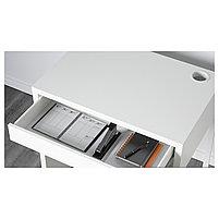 Письменный стол MICKE Микке, белый73x50 см, фото 6