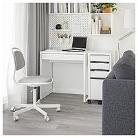 Письменный стол MICKE Микке, белый73x50 см, фото 7