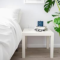 Придиваный столик LACK Лакк, белый 55x55 см, фото 3