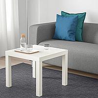 Придиваный столик LACK Лакк, белый 55x55 см, фото 4