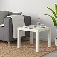 Придиваный столик LACK Лакк, белый 55x55 см, фото 5