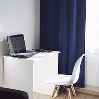 "Стол для компьютера MARREN Маррен, белый 75x52x75 см"", фото 2"