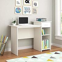 "Стол для компьютера MARREN Маррен, белый 75x52x75 см"", фото 4"