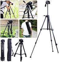 Качественный,легкий, надежный штатив для цифровых фото и видеокамер Jmary KP-2264