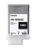 Картридж Canon PFI 107 Matte Black (130 ml)