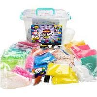 """Набор для создания слайма Slimer """"Big Mix Glue"""", 51 элемент, пластиковая коробка"""