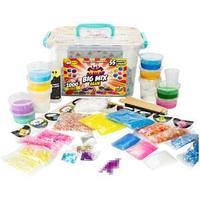 """Набор для создания слайма Slimer """"Big Mix Glue"""", 55 элементов, пластиковая коробка"""