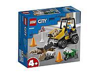 LEGO Автомобиль для дорожных работ CITY