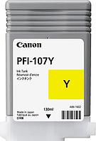 Картридж PFI 107 Yellow (130 ml)