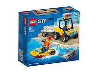 LEGO Пляжный спасательный вездеход CITY