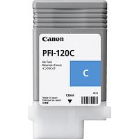 Картридж PFI-120 Cyan (130 мл для ТМ-серии)