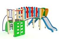 Детский игровой комплекс Карапуз Горка 900