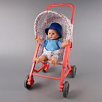 Baby: пупс 30см и коляска