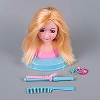 Baby: Кукла-манекен для создания причесок, блондинка