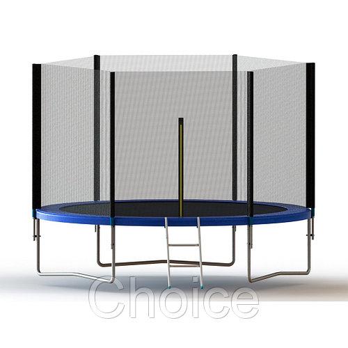 Батут с защитной сеткой X-Game 305х230см
