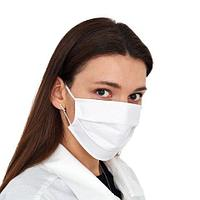 Белые медицинские 3-х слойные маски