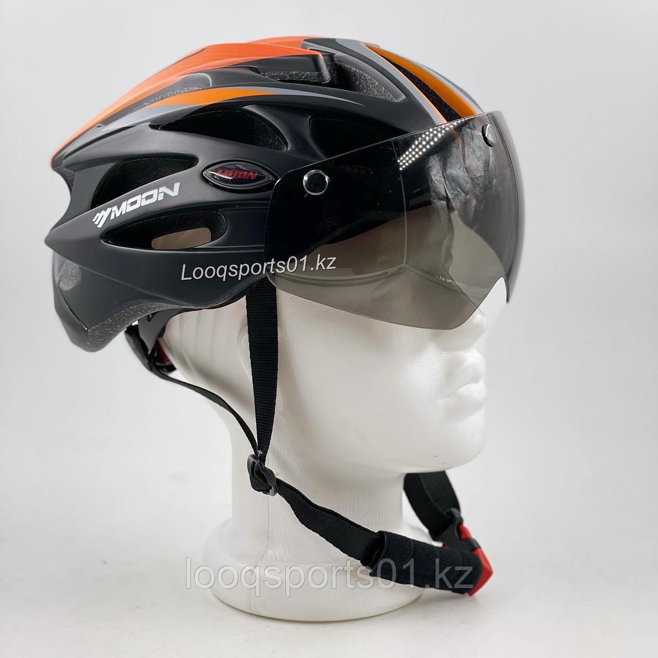 Велосипедный шлем (велошлем) с очками MV-29-GT