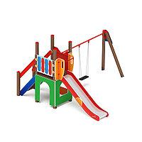 Детский игровой комплекс Счастливое детство Горка 1200