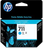Картридж HP CZ130A Cyan Ink Cartridge №711