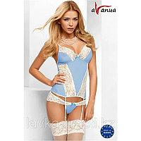 "Комплект ""EDEN CORSET blue"" - Avanua, размер S"
