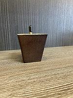 Ножка мебельная, деревянная, пирамида 7.5 cm