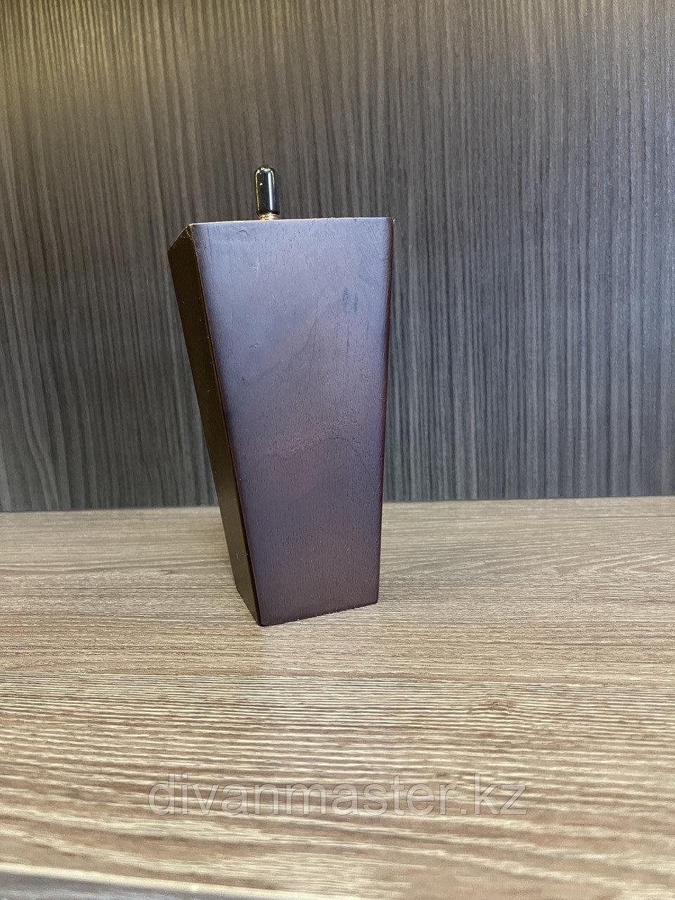 Ножка мебельная, деревянная, пирамида 15 cm
