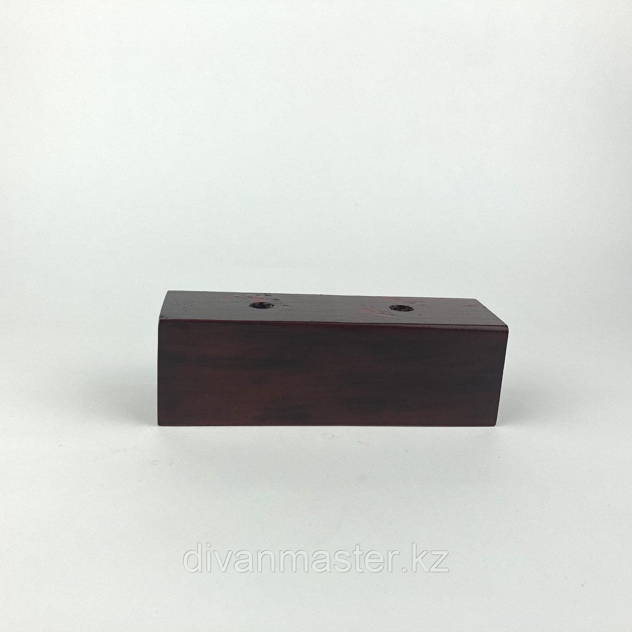 Опора деревянная, прямая для мягкой мебели. 5 см