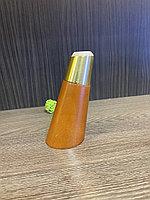 Ножка мебельная, деревянная с латунным наконечником.12 см с наклоном