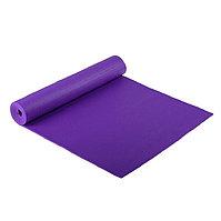 Коврик для йоги фиолетовый / размер 173x61 см / толщина 6 мм / с чехлом / Yoga mat