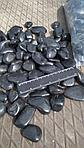 Галька полированная декоративная черная (30-50 мм)