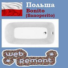 Акриловая ванна Salsa 170x70   (Ванна + ножки). Польша