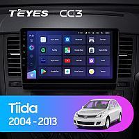 Магнитола Teyes на Андроиде для Nissan Tiida C11 2004-2013
