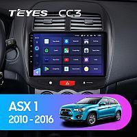 Магнитола Teyes на Андроиде для Mitsubishi ASX 1 2010-2016