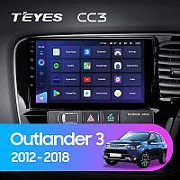 Магнитола Teyes на Андроиде для Mitsubishi Outlander 3 2012-2018