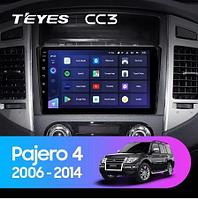 Магнитола Teyes на Андроиде для Mitsubishi Pajero 4 V80 V90 2006-2014