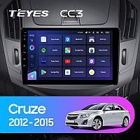 Магнитола Teyes на Андроиде для Chevrolet Cruze J300 J308 2012-2015