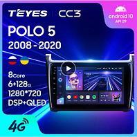 Магнитола Volkswagen POLO 5 2008-2020 Teyes CC3, 3+32G