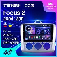 Магнитола Ford Focus 2 Mk 2 2005-2010 Teyes CC3, 6+128G