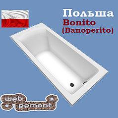 Акриловая ванна Banoperito Aventura 170x75  (Ванна + ножки). Польша