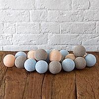Гирлянда декоративная Мила 20 шаров/сеть